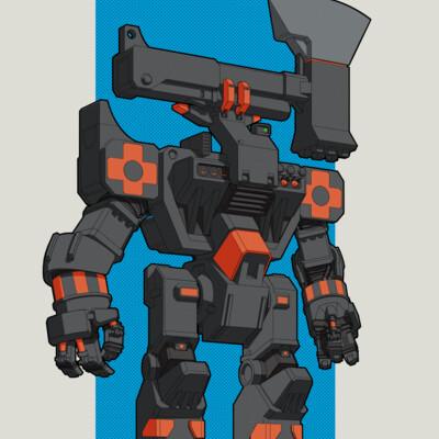 робот, дизайн, Техника, Концепт-арт