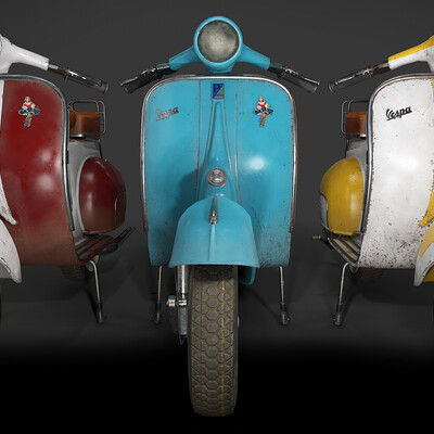vespa, Vintage, bike, motorbike, motorcycle, vehicle, transport