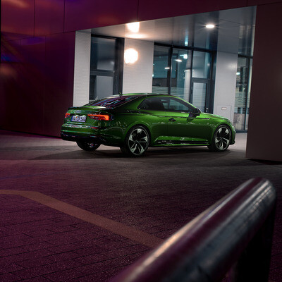 VRED, Audi RS5, 3ds Max, Photoshop, Hithlum