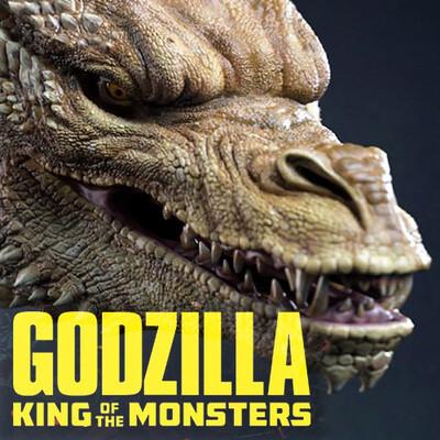 godzilla, dragon, king ghidorah, kingghidora, godzilla2019, ZBrush, sculpting, digital sculpture, zbrushsculpt, king of the monsters