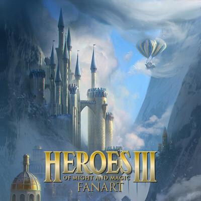 linasidorova, SketchUp, KeyShot, homm3, герои3, heroes3, heroesofmightandmagic3, heroesofmightandmagic, замок, Matte Painting