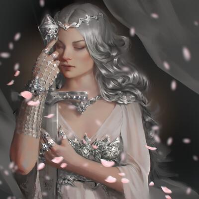 Character, Fantasy, sword, woman