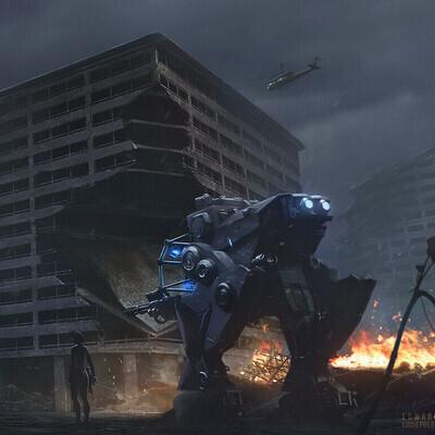 2dart, concept, concept_art, scifi, sci-fi, environment desigh, environment artist, mecha, robot, keyframe