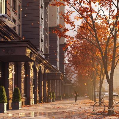 residential complex, 3dmax, Corona Renderer, rendering, Dinasty, archviz, fullcgi, cgillustration, classic architectute, architect