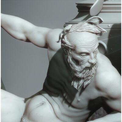 фонтан, скульптура