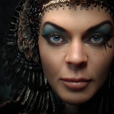 Клеопатра, змея