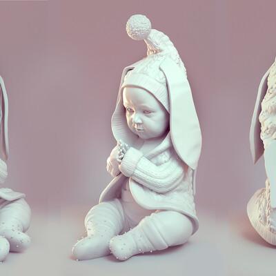 3d print, model, sculpting, 3d sculpt, Tutorials, realistic, ZBrush, CG