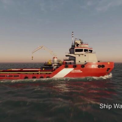 unigine, water, water visualization, Water Simulation