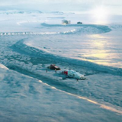 wood1960, Antarctic expedition, ConceptArt