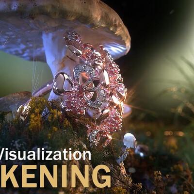 render jewelry, jewel jewelry Footbal pendant footbal cnc modeling jewelry 3d jewelry modeling, jewelry rendering, Jewelry Presentation, jewelry design, jewelry render, morning, Nature, forest