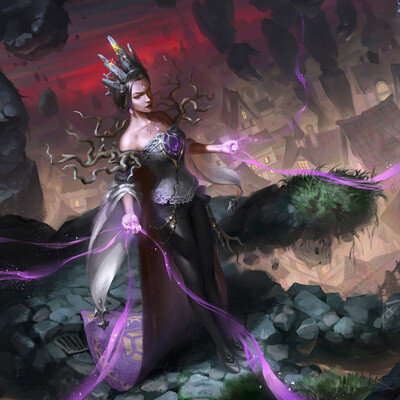ArtWar, mage, Fantasy, concept design, character design