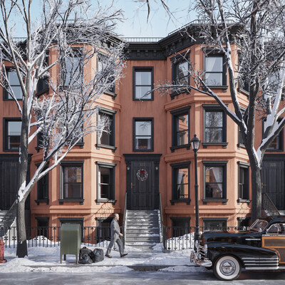 3Dsmax, architecture, brooklyn, building, CG, coronarender, coronarenderer, Exterior, newyork