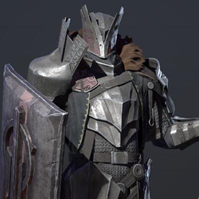 knight, 3d characher