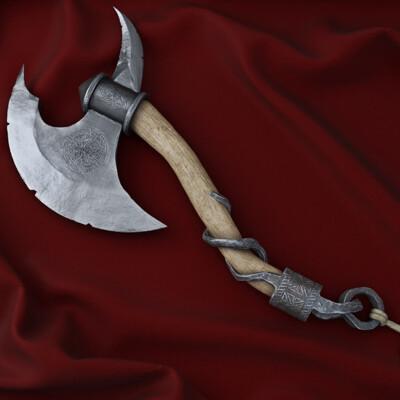топор, Ритуальный, оружие, Концепт-арт, холодное оружие, война, кельты
