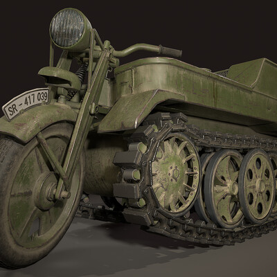 Transport & Vehicles, Vehicles, Military Equipment, ww2, motorcycle