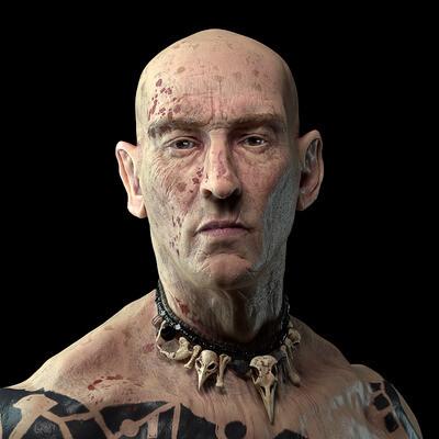 human, 3d sculpt