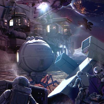 будущее, SKYWAY Book, Фантастика, Космос, Космический корабль, космическая колония