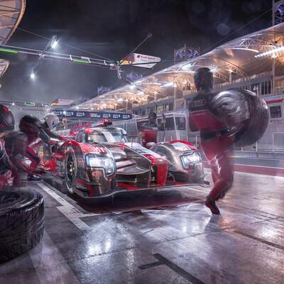 Audi, r18, lmp, lmp1, wec, lemans, motorsport, race, car, michelin