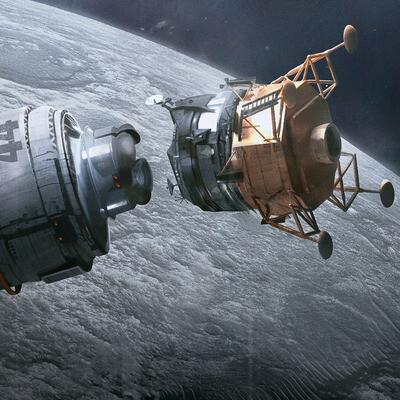 Космос, луна