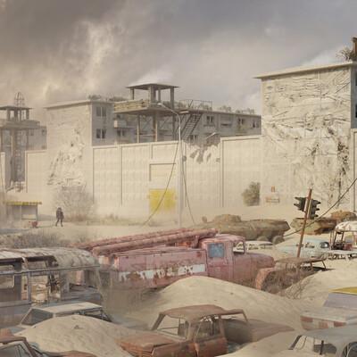 Resistant-17, quarantine, quarantine zone, Robots