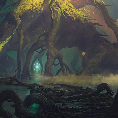 ConceptArt, environment, Fantasy, fantasyart, tree, digital2d
