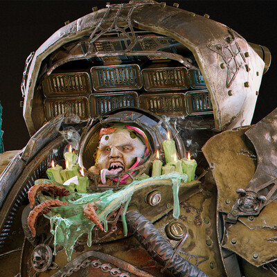 warhammer40000, Warhammer 40k, space marine, chaos space marines, nurgle, nurgling, dark guardian