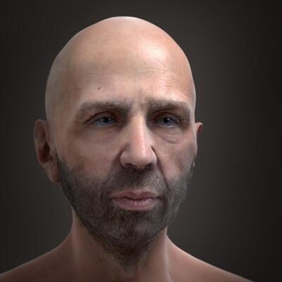 Digital 3D, Portraits, Character Modeling, Realism, human