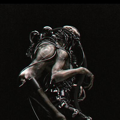 creatures, concept, cyborg, cyberpunk, design