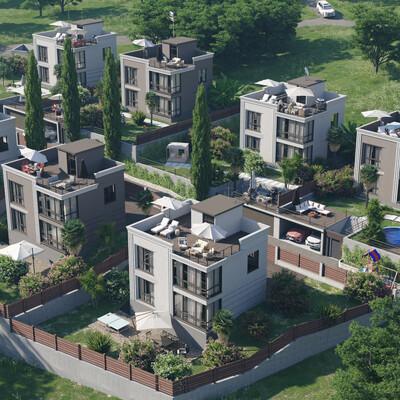 architectural visualization, 3D Architectural Visualization, 3d rendering, GrowFX, archviz