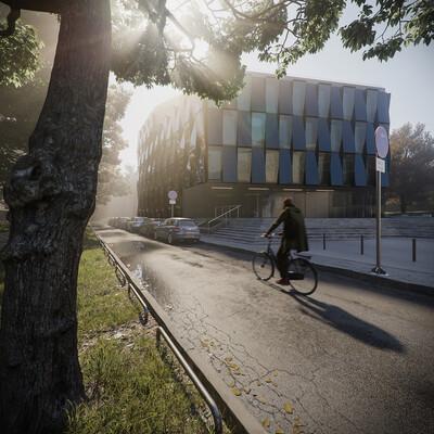 3dmax, architecture, building, CG, coronarender, coronarenderer, Exterior, Germany, house