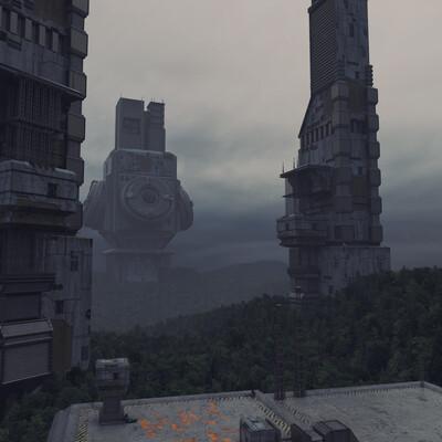 scifi, Concept Art, environment