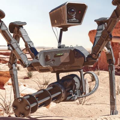 Robots, mechanical, mechanism, Mechanical Design, gun, firearm, weapon