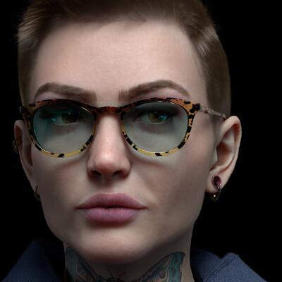 female character, ZBrush