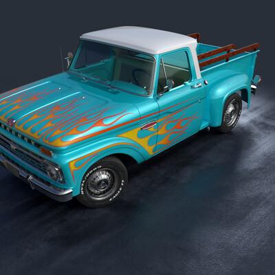 автомобиль, mercury, Ford F100