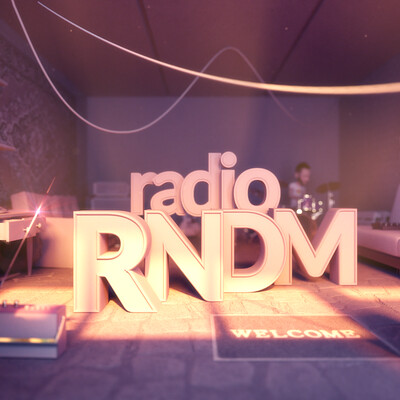 character, music, drums, internet radio, RNDM Radio, 3D Animation