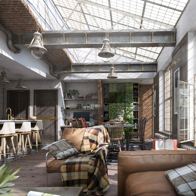 3ds, 3dmax, 3dvizualization, CG, rendering, interiordesign, interior, art, Photoshop