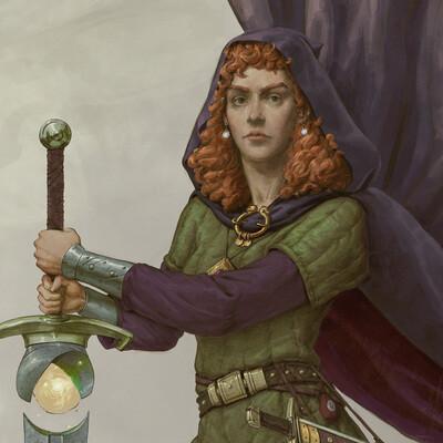 девушка, воин, девушка-воин, меч, мечник, магия, большой меч, girl, girls, girl warrior