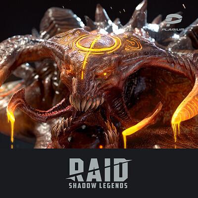 Plarium, 3d, 3dmodels, 3ds Max, creature, gameart