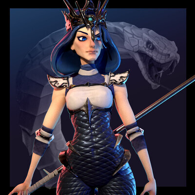 Fantasy, Characters, game character, characterdesign, cartoon character, female character, character concept, game art, gamedev, stylized character