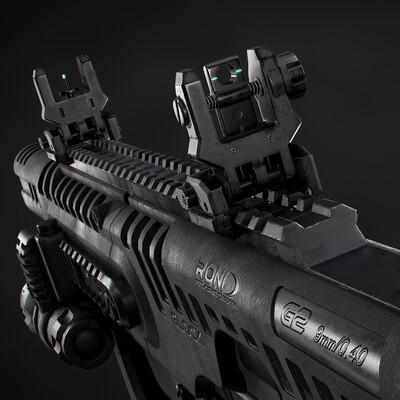 оружие, глок, автомат, weapons, modern, hard surface, PBR, glock, pistols, gun