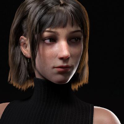 персонаж, дизайн персонажа, 3д персонаж, концепт персонажа, девушка