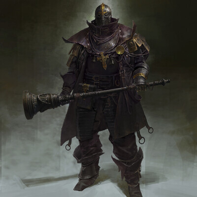 paladin, Dark Souls, bloodborne, Character, concept_art