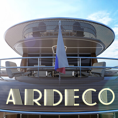 MotorYacht, Yacht, artdeco, Exterior, boat, ardeco, Art-Deco, 3dyacht, oldscool