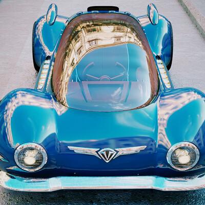 futuristic, future, cars Steam 3d retro futuristic steam engine, retrofuture, futurism