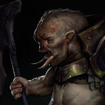 concept-art, monster, fantasy creature, design_character
