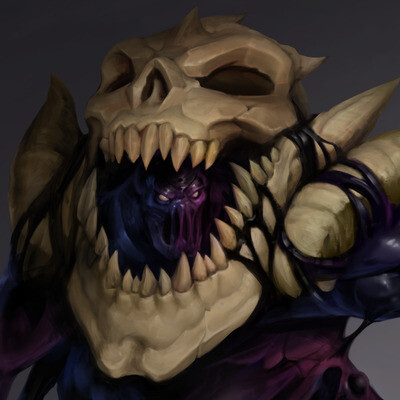monster, creature, concept-art
