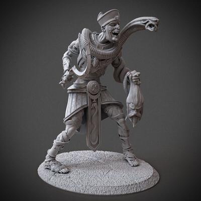 Digital 3D, 3D Printing, Fantasy, Horror, Character Modeling, miniature, miniatures, boardgames, 3dprint