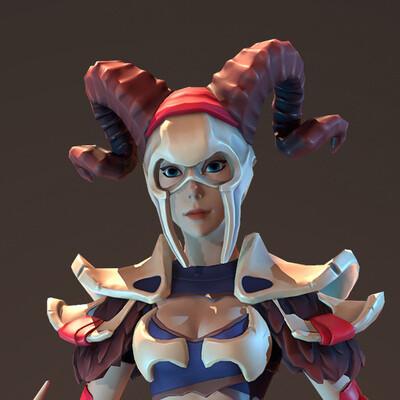 игровой персонаж, Стилизованная модель