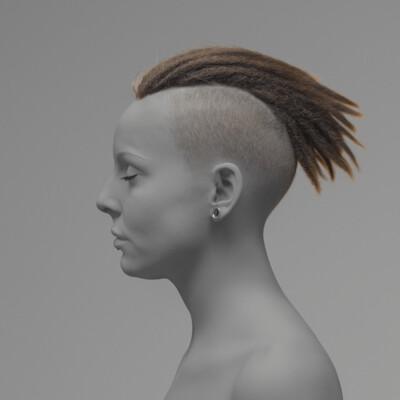 XGen, grooming, Character