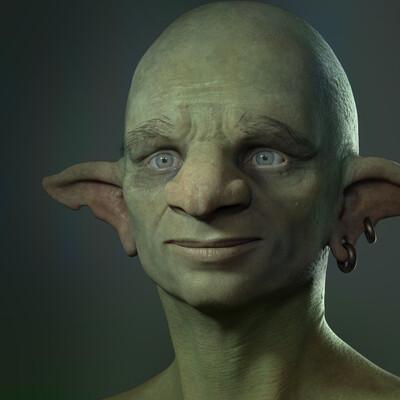 3d art, Character, design_character, goblins